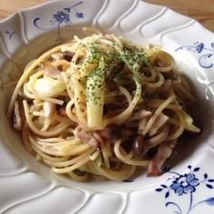 フライパン1つ☆簡単で美味しい和風パスタ