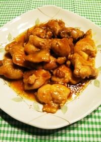 梅ジャム!鶏もも肉の照り焼き・テリテリ煮