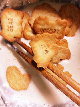 アサイチ☆美味しいビスケットの天ぷら