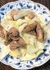 豚肉とキャベツのニンニク塩炒め