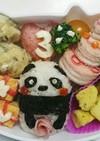 簡単なお誕生日のキャラ弁ケーキ