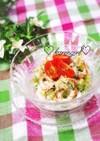 きゅうりとちくわの梅マヨネーズサラダ