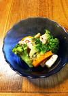 ブロッコリーとシーフードのマリネ風サラダ