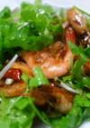 海老のピリ辛香味サラダ