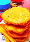 糖質制限しっとりふわ~◆きな粉パンケーキ