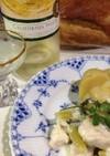 フランス家庭料理☆鶏とセロリのクリーム煮