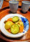和風♪ズッキーニと愉快な野菜たちの煮込み