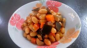 煮豆(五目豆)~圧力鍋で時短~
