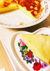 HM&炊飯器で簡単スフレチーズケーキ☆