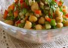 モロッコ風ミックススパイスひよこ豆サラダ