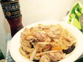 簡単☆鶏肉と玉ねぎの焼肉タレ炒め