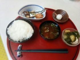 血管ダイエット食364(煮鮭&焼き鰯)