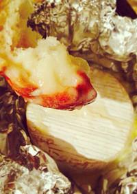 BBQに超簡単☆カマンのチーズフォンデュ