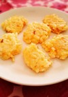 離乳食後期〜*卵としらすご飯のおやき