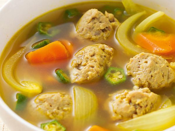 いわしのつみれカレースープ
