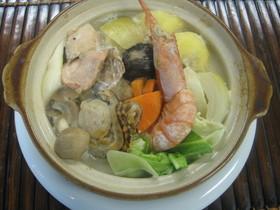 ★洋風★北海道ミルク鮭石狩鍋