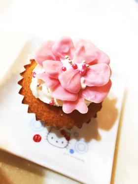 カーネーションのカップケーキ*母の日