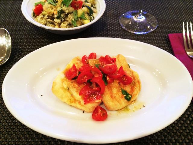イタリア風♡モッツァレラとハムの焼き巾着