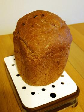ココアレーズンくるみパン(HB使用)