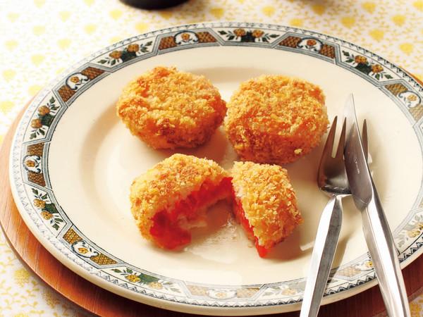 フルーツトマトのフライ