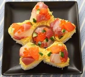 一口おむすびの星形ちらし寿司