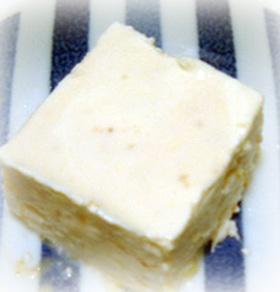 無花果入りチーズとヨーグルト