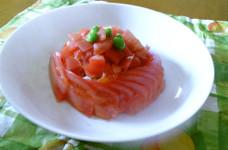 トマトサラダ ★お洒落な切り方★