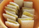 離乳食♡朝食に♡さつまいもサンドイッチ♡