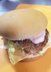 朝食に!Tomomy's チーズバーガー