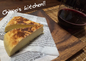 赤ワインにも合う!炊くチーズケーキ