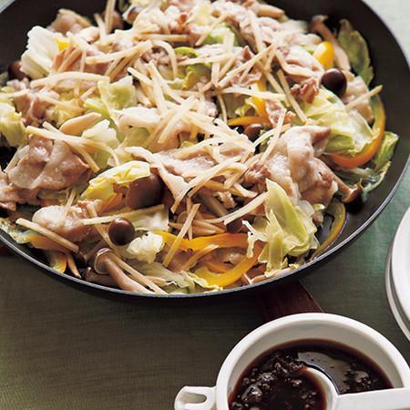 豚肉とキャベツのフライパン蒸し by レタスクラブ | プロのレシピ
