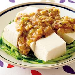 ジャージャー豆腐