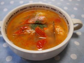 超簡単~!タイ料理♡トムヤムクン風スープ