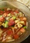 冷し麺にお勧め♪五色の彩りピリ辛麺つゆ