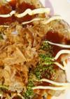 大和芋とキャベツのお好み焼き風