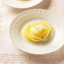 大根とレモンのスイートミルフィーユ