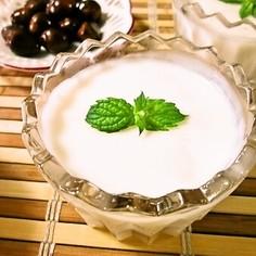 枇杷の種で♡杏仁豆腐(ゼラチン使用)