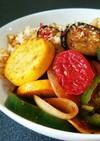 ザクザク食べよう!夏バテ予防のカレー炒飯