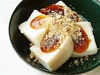 みたらし高野豆腐