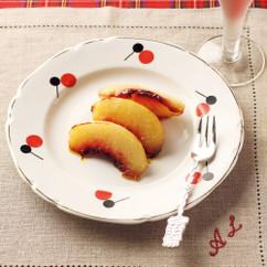 桃のスイートカレー塩グリル