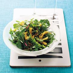 生青菜のゆずこしょうサラダ