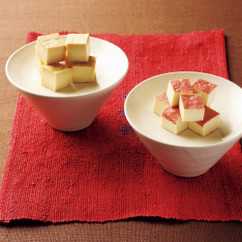 豆腐のみそ漬け、梅酢漬け