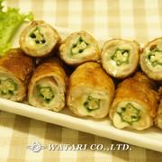 甘辛タレで簡単◇オクラとチーズの豚肉巻きの写真
