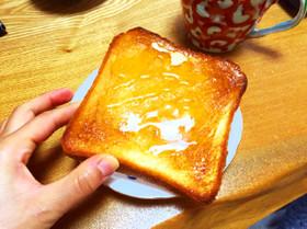おうちcafé!ハニーバタートースト