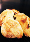 魚焼きグリルでパン