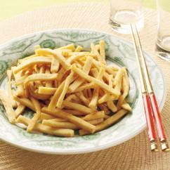 高野豆腐の花椒炒め