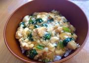 ヘルシー♡豆腐とささみのあんかけ丼♡の写真