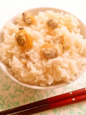 ☺身がプリプリ☆簡単に作れるあさりご飯☺