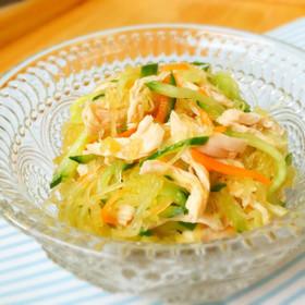 そうめんかぼちゃ☆シャキシャキ中華サラダ