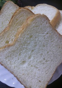 HBで我が家のズボラ食パン
